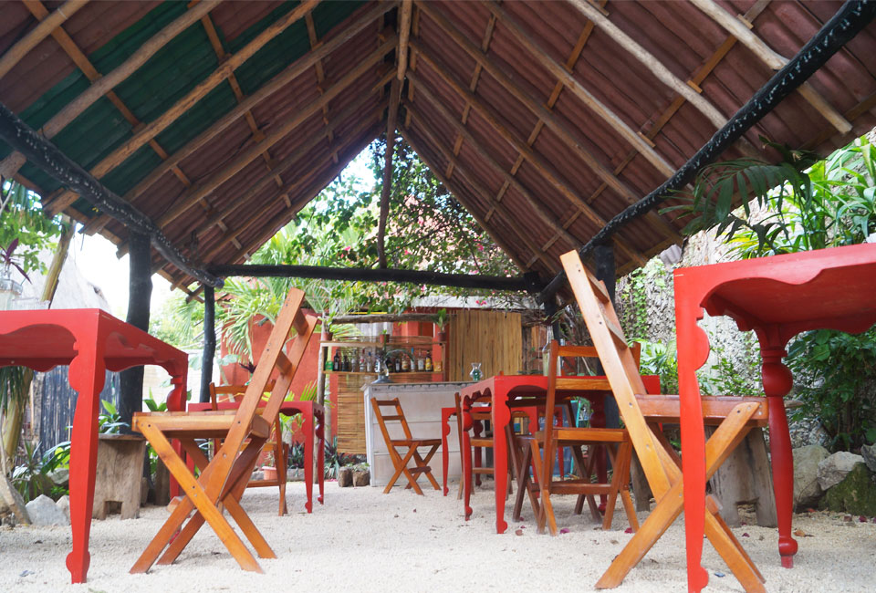 Tulum's little restaurants are as delicious as they are relaxing