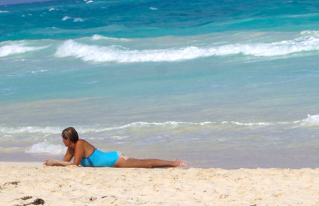 Playacar beaches are quiet and less crowded allowing for a peaceful day at the beach!