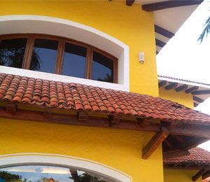 Playacar homes are built with unique style and architecture