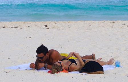 Playa del Carmen is full of romance