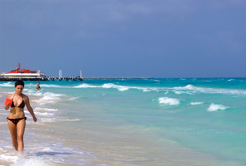 Playacar is very conveniently located to the Cozumel ferry dock
