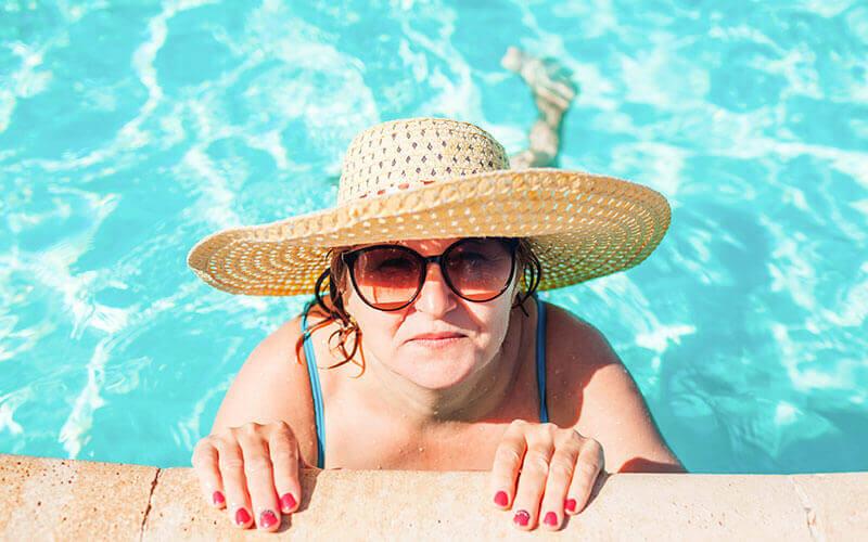 SAas Kib Condos in Playa del Carmen - Pool